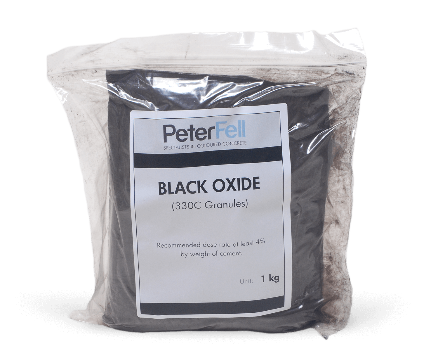 Black Oxide for colouring concrete
