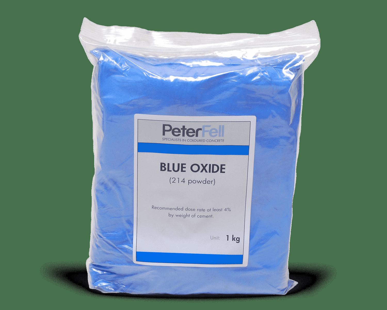Blue Oxide for colouring concrete