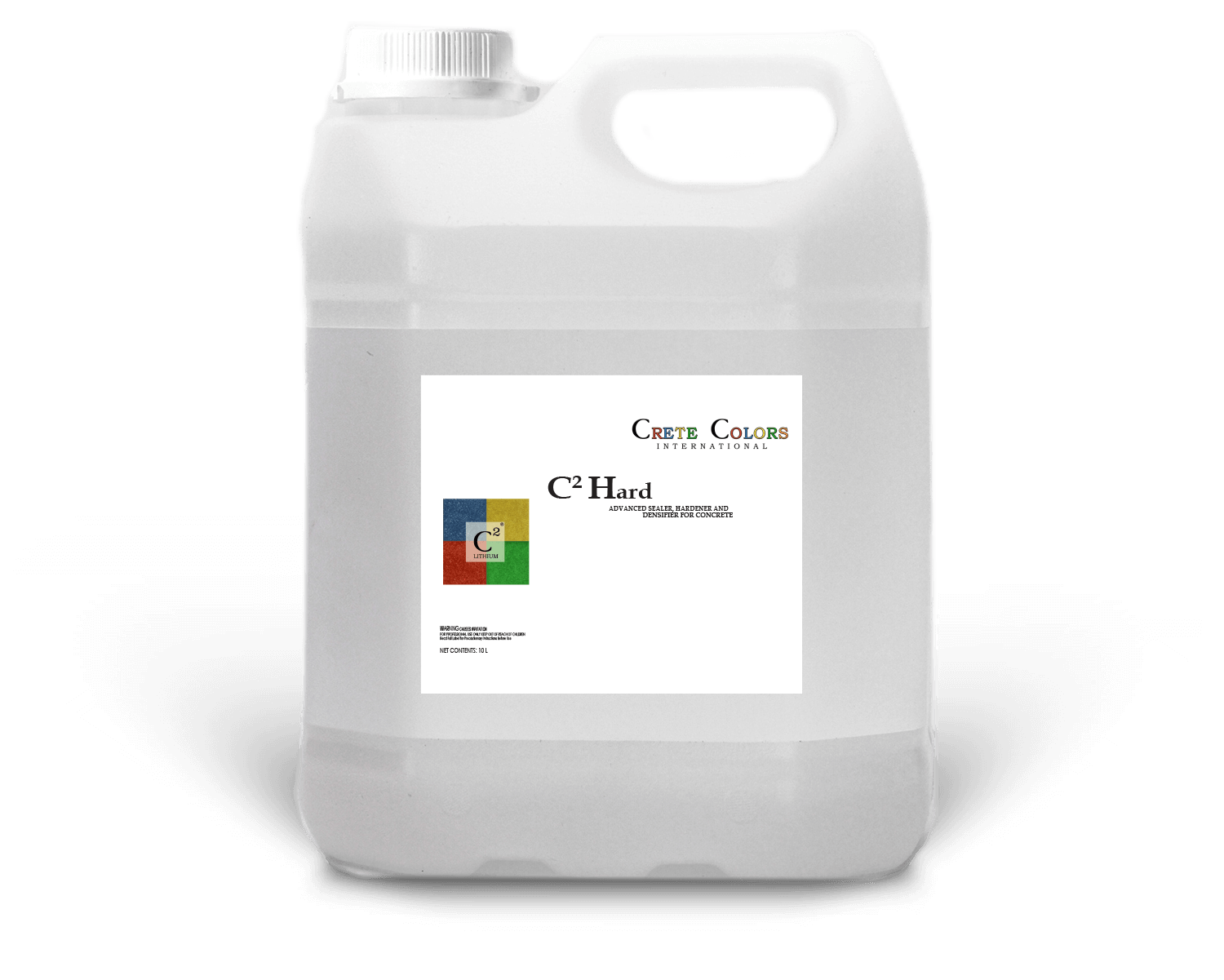 C2 Hard lithium densifier for polished concrete floors