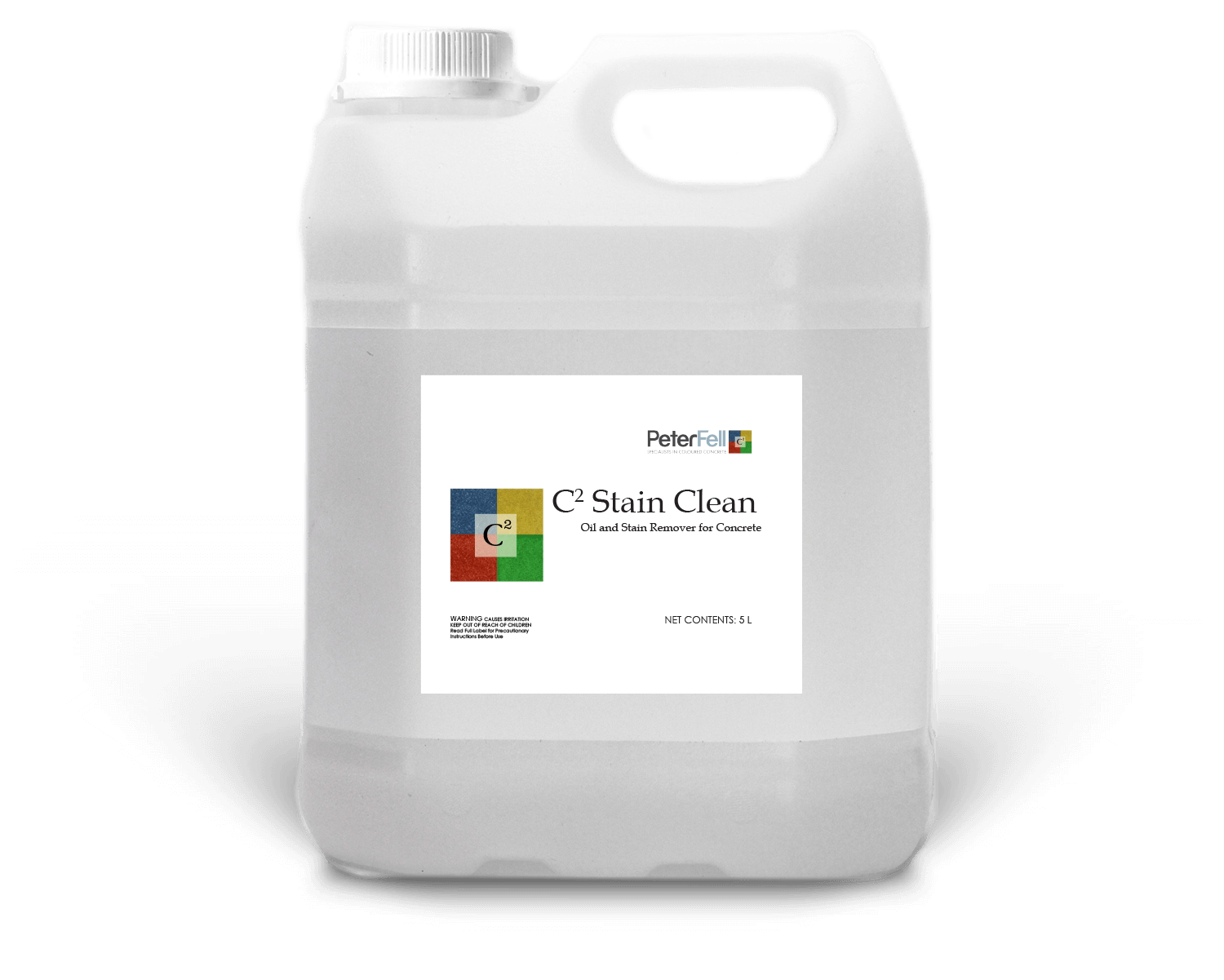 C2 Stain Clean for cleaning Concrete floors