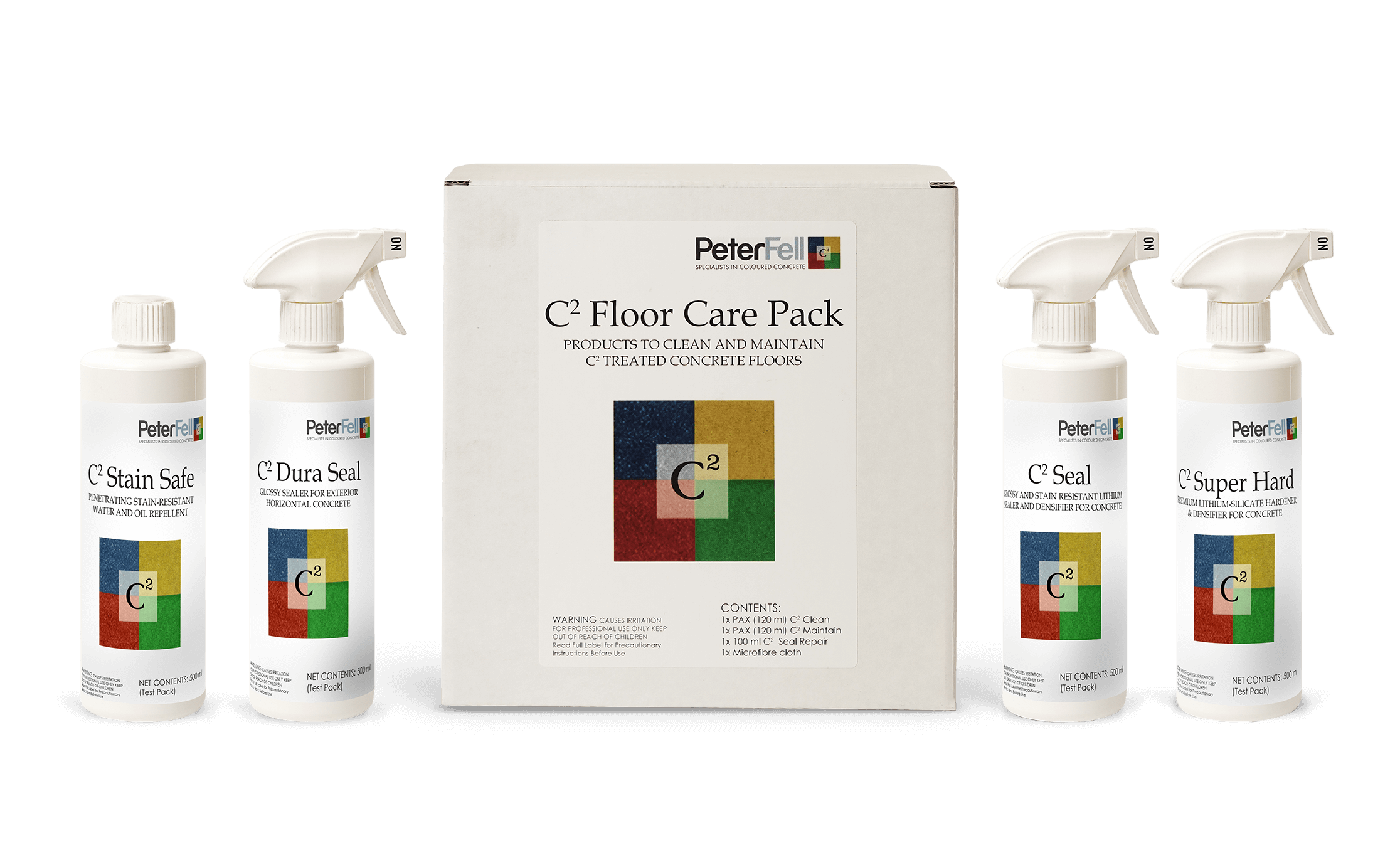 C2 floor care pack to look after your C2 polished concrete floor