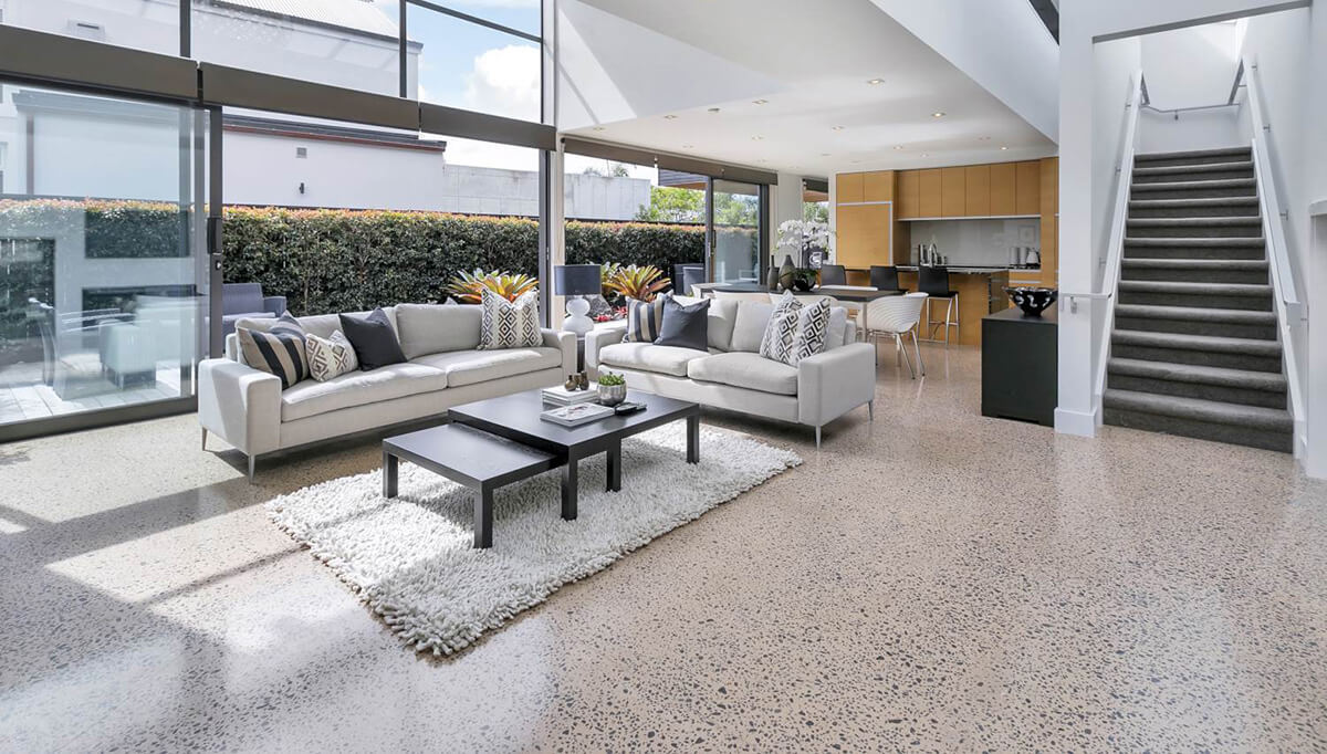 Concrete Floors - Peter Fell Coloured Concrete