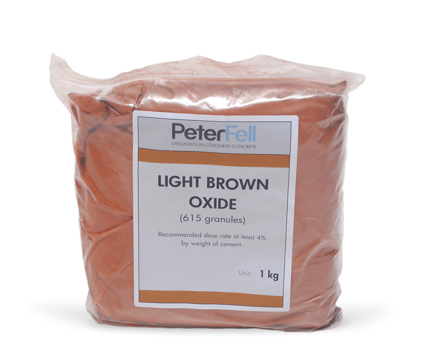 Light Brown Oxide for colouring concrete