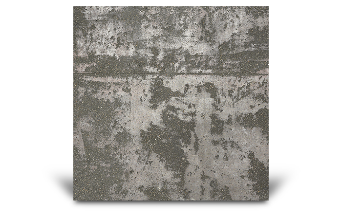 Texture roll concrete surface