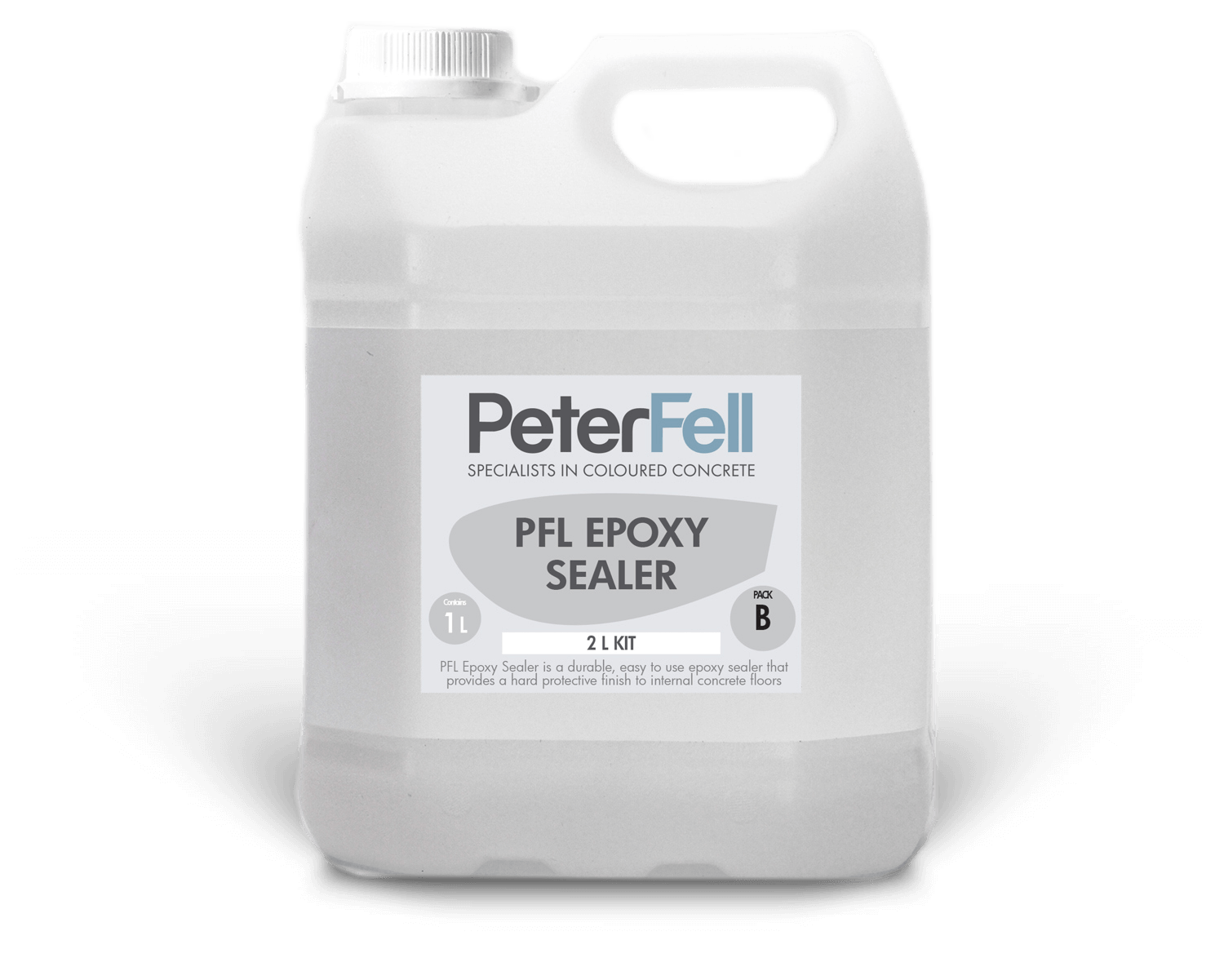 PFL epoxy concrete sealer 2 lite bottle