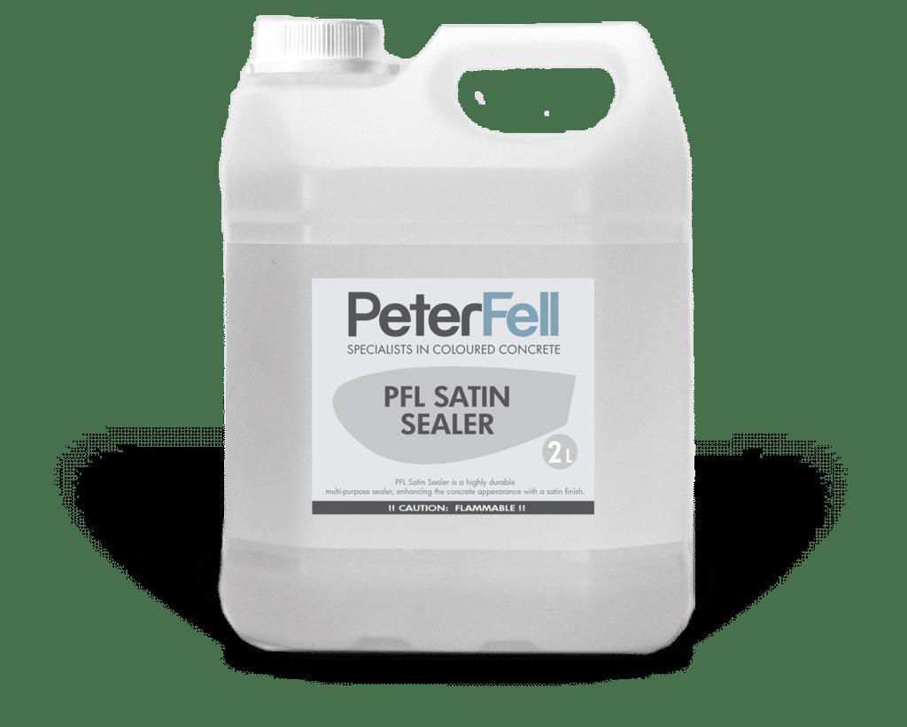 Peter Fell Satin concrete sealer 2 litre bottle