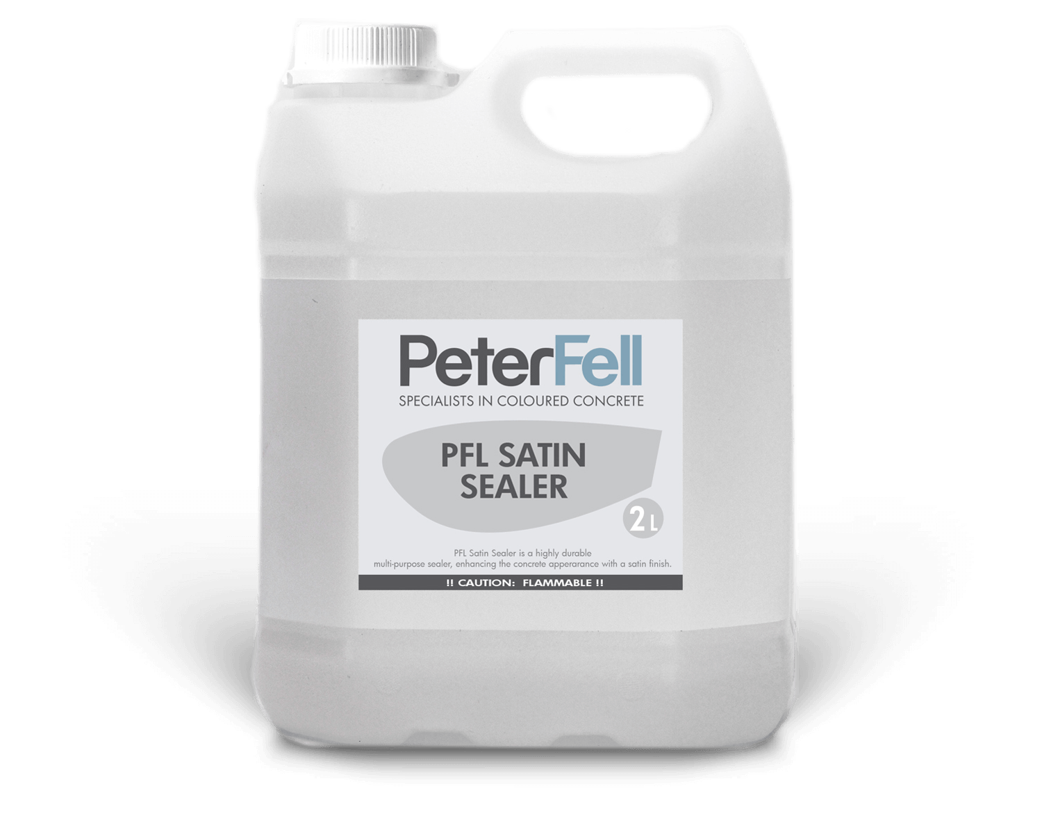Peter Fell Satin concrete sealer 2 litre bottle