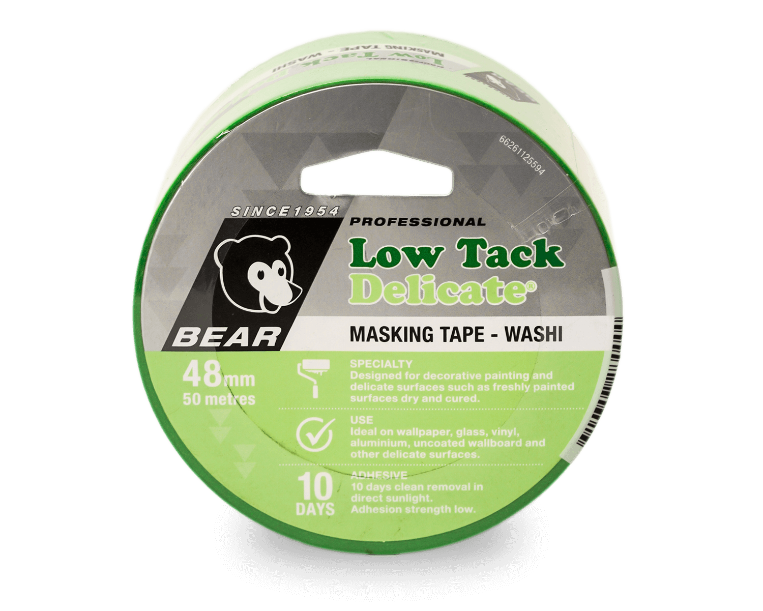 low tack masking tape for concrete grout
